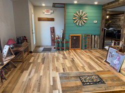 Reclaimed Center Cut Flooring