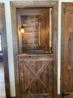 Reclaimed Dutch Door