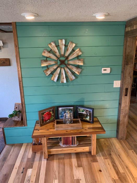 New Pine Shiplap & Rustic Decor