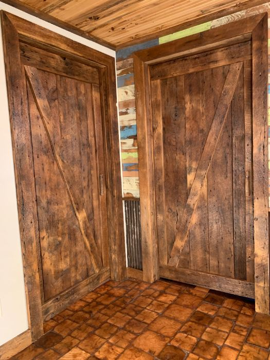 Reclaimed Barn Wood Doors