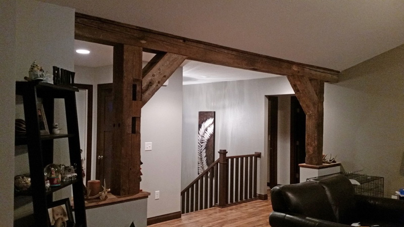 Barn Beam Doorway Trim