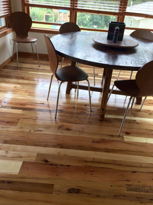 Center-cut Wood Flooring