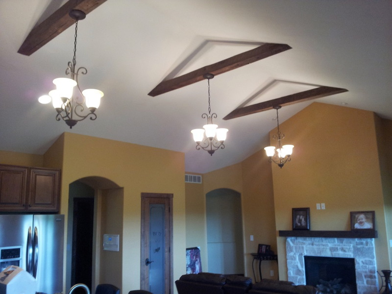 Barn Beam Ceiling Lights