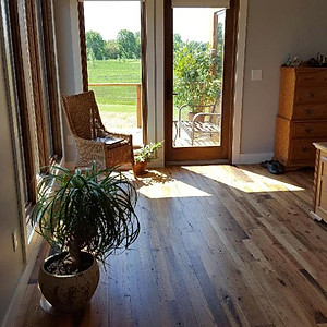 Reclaimed Tongue and Groove Flooring