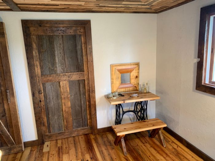 Brown/Grey Barn Wood Door