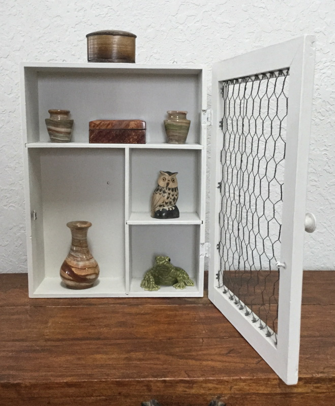 Reclaimed Closed Shelves