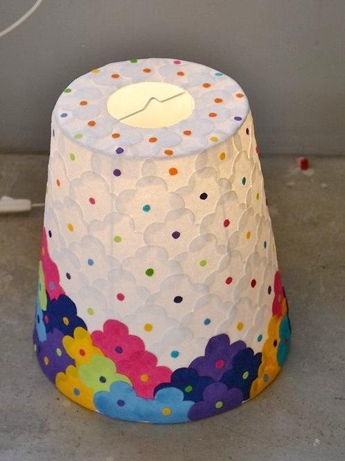 Lampe GM  Cône Ht 30 cm x Ø28 cm