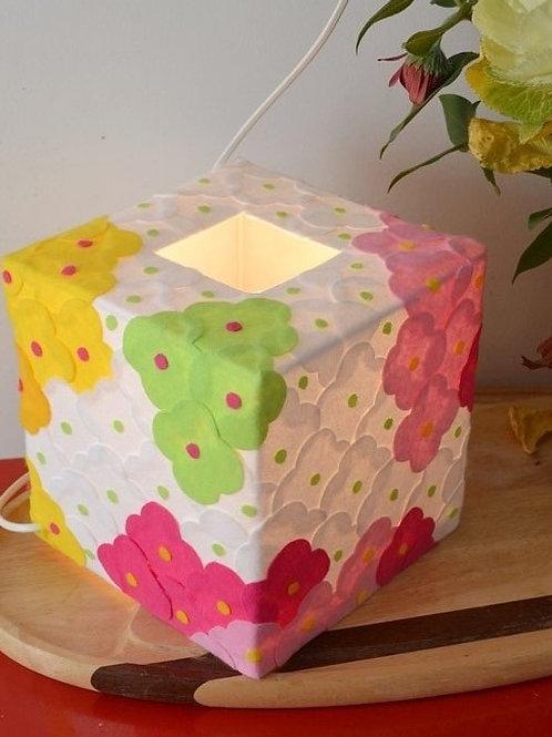 Lampe Carrée  20 cm x 20 cm