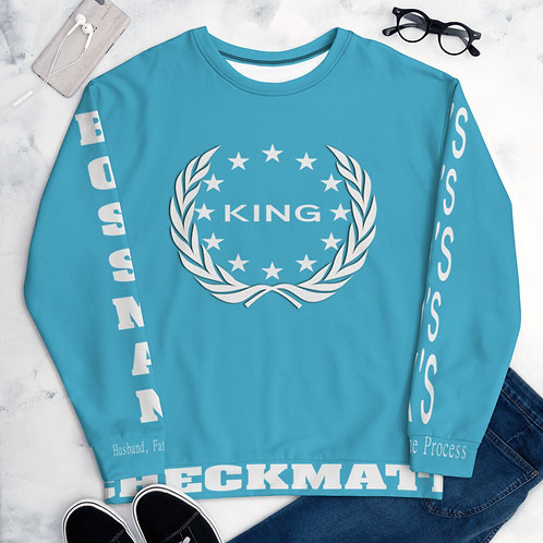 King Bossman Husband Father Friend Storm Survival Men's Sweatshirt