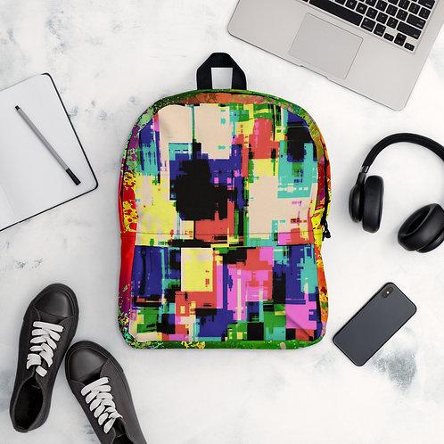 Cool Colorful Tie Die School Gym Summer Backpack