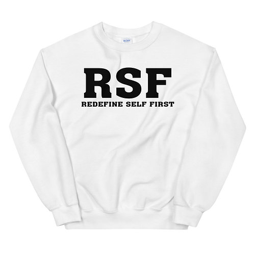 RSF | Redefine Self First | Unisex Sweatshirt