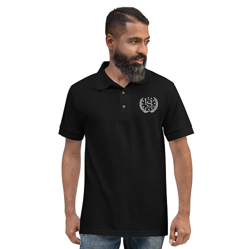 Darius Stokes Embroidered Polo Shirt DS