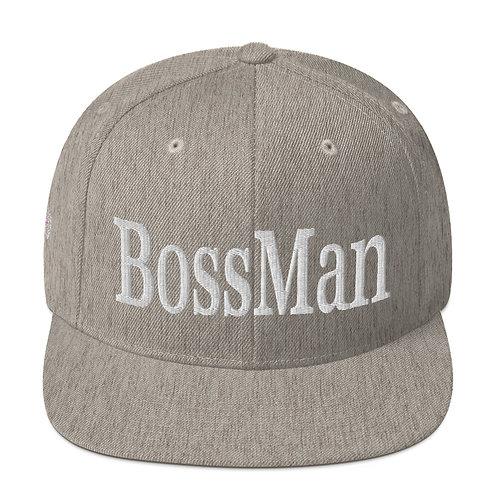 BossMan Camo Boss Man Snapback Hat
