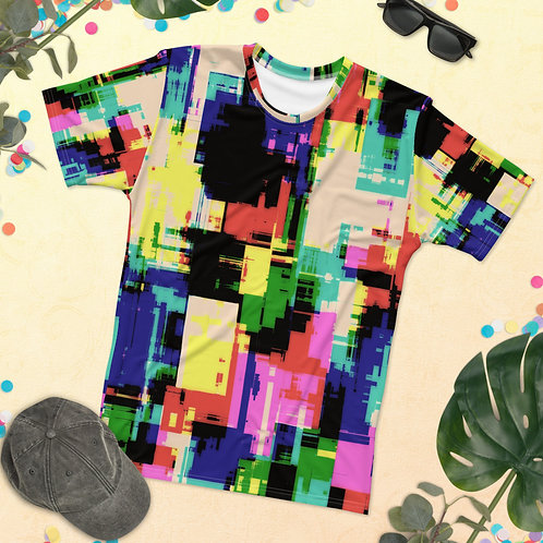 Men's Spring And Summer Tie Dye T-shirt