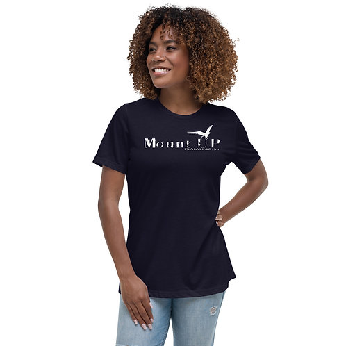 Mount Up With Wings Christian Women's Relaxed T-Shirt