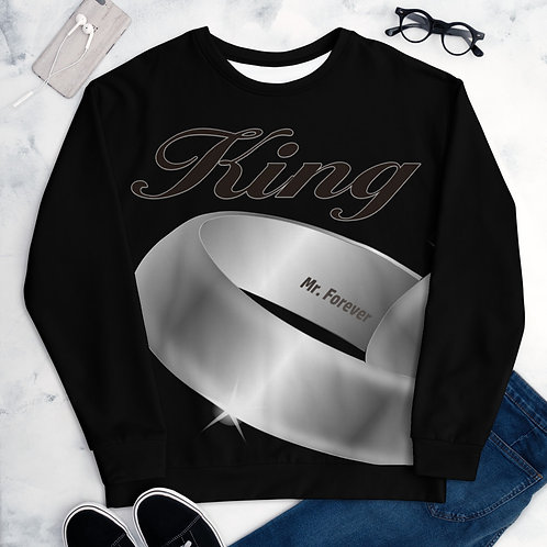 King Long Sleeve Mr. Forever Married Couple Sweatshirt Matching Set