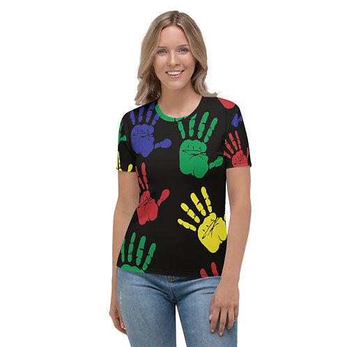 Cool Mom Colorful Hands Women's T-shirt