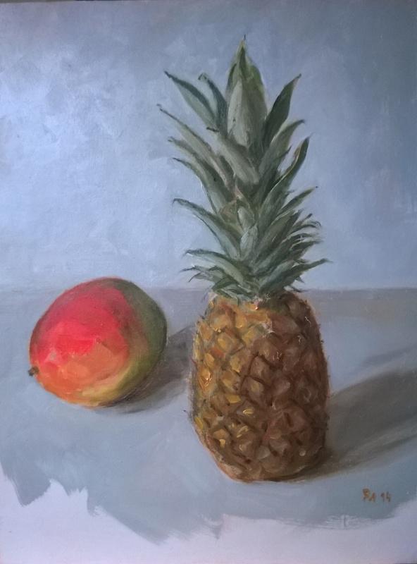 mangue et ananas