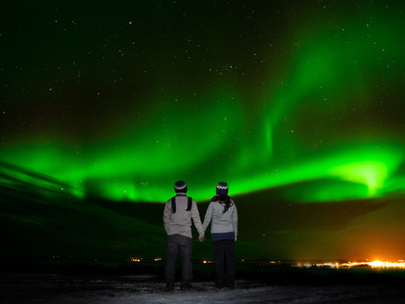 How to Photograph an Engagement Session in Iceland During the Winter