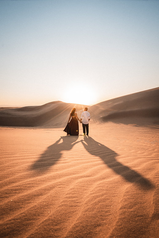 Imperial Sand Dunes Engagement