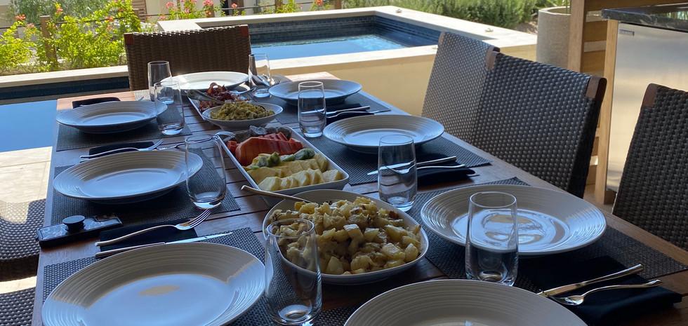 Villa Destination Catering