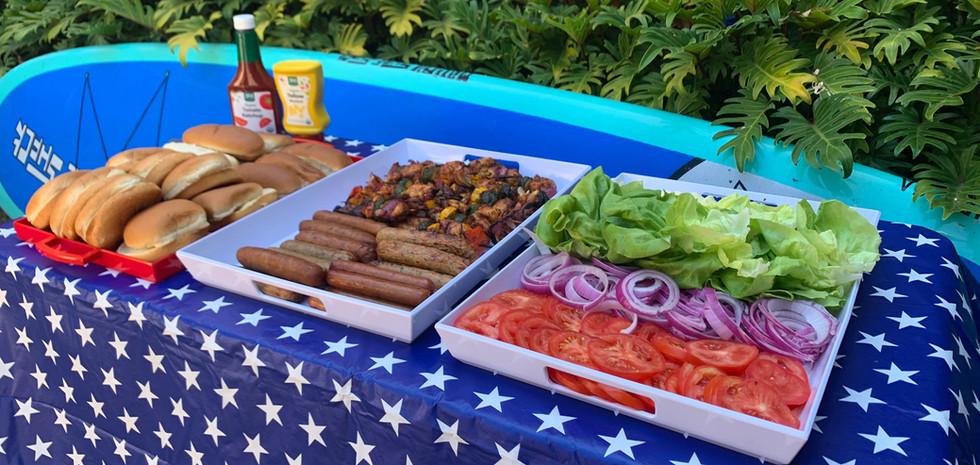 4th of July Burger Bar