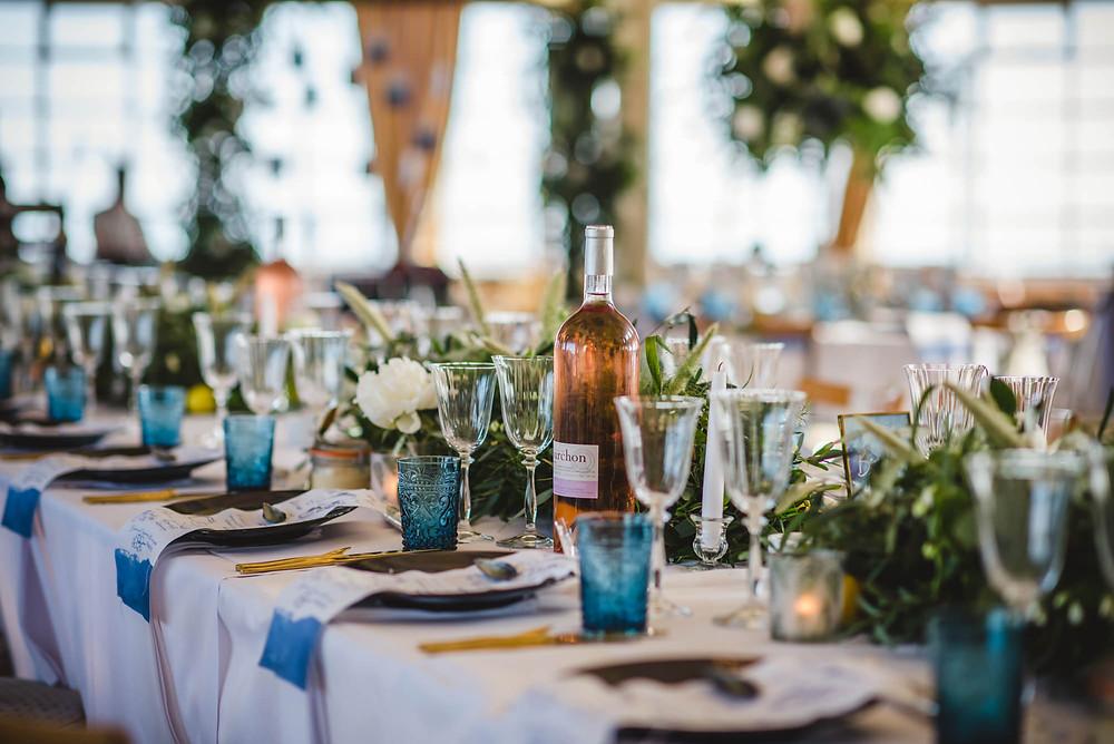 Worthing Wedding | Tablescape | West Sussex Wedding