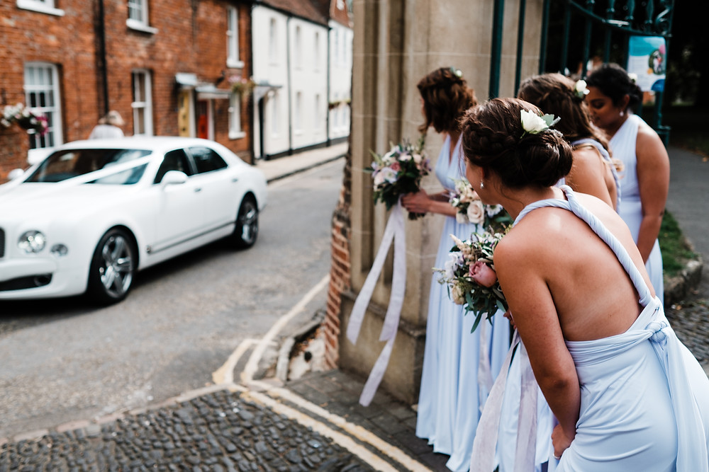 2 birds bridemaids dresses