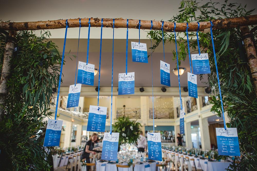 Wedding Planning UK | Table Plan Ideas