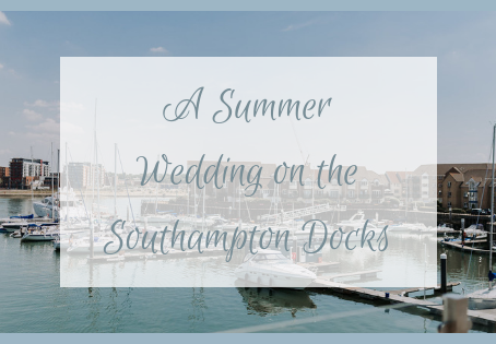 A Summer Wedding On the Southampton Docks