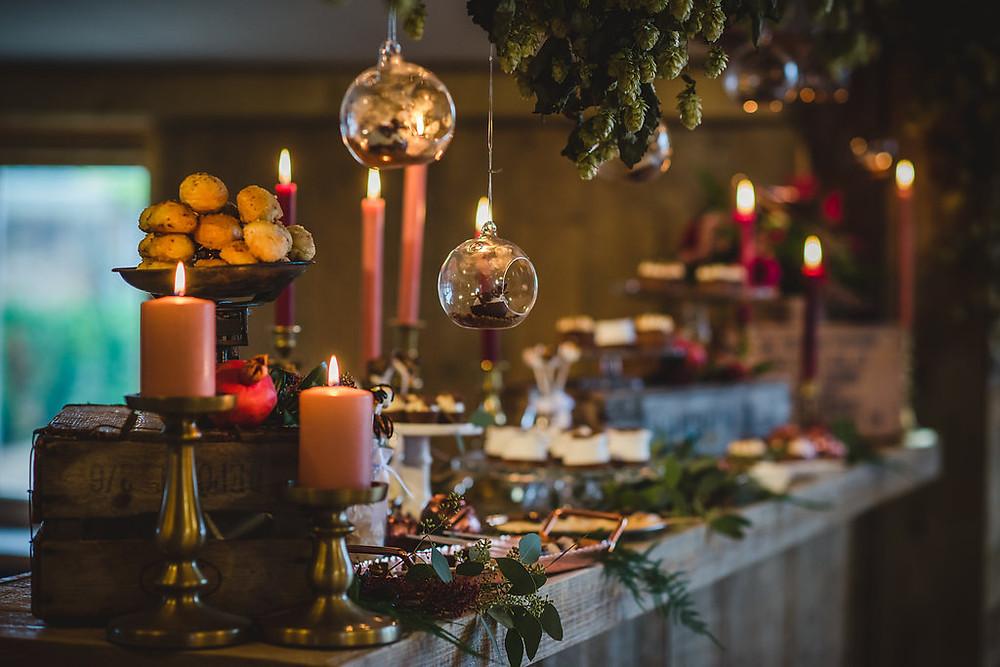 MonAnnie Cakes | Dessert Table | Hampshire Wedding Planners