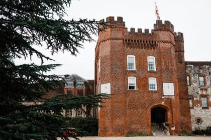 Wedding at Farnham Castle with Robyn and
