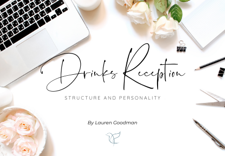 Wedding Reception Series- Part One: How To Plan your Drinks Reception