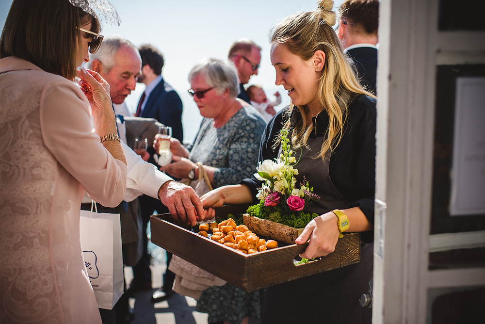Canapes | Seaside Wedding | Uk Wedding