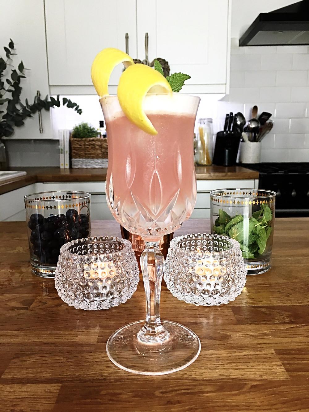 Bluebird Mint cocktail | Surrey Wedding Planner