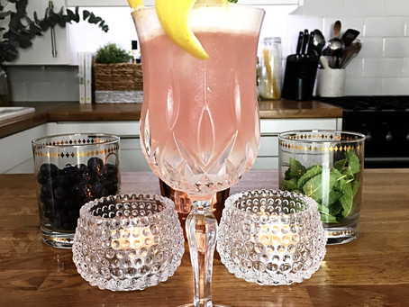 Bluebird Creative's cocktail hour...