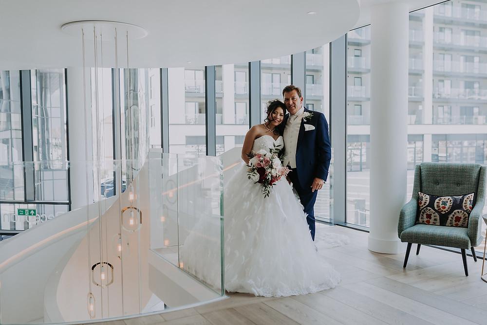 White wedding | modern | contemporary | wedding planning