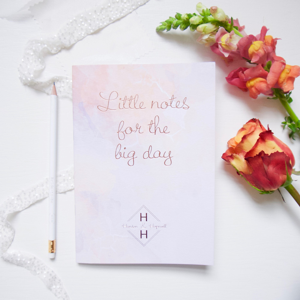 Wedding Planner Surrey | Notepad