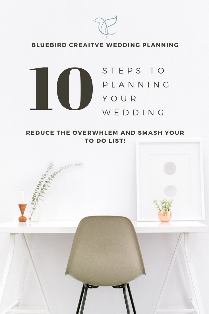 10 steps to planning your wedding