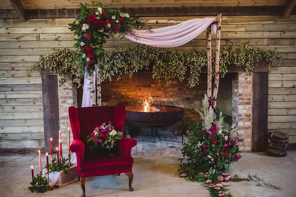 Flower Arch | Bluebird Creative | Wedding Planners