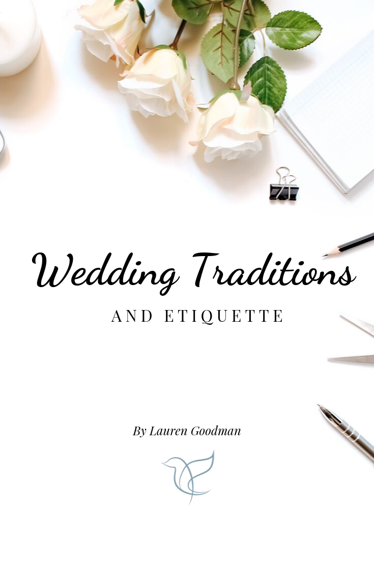 Surrey wedding planning, wedding etiquette, wedding traditions, what wedding traditions are there,