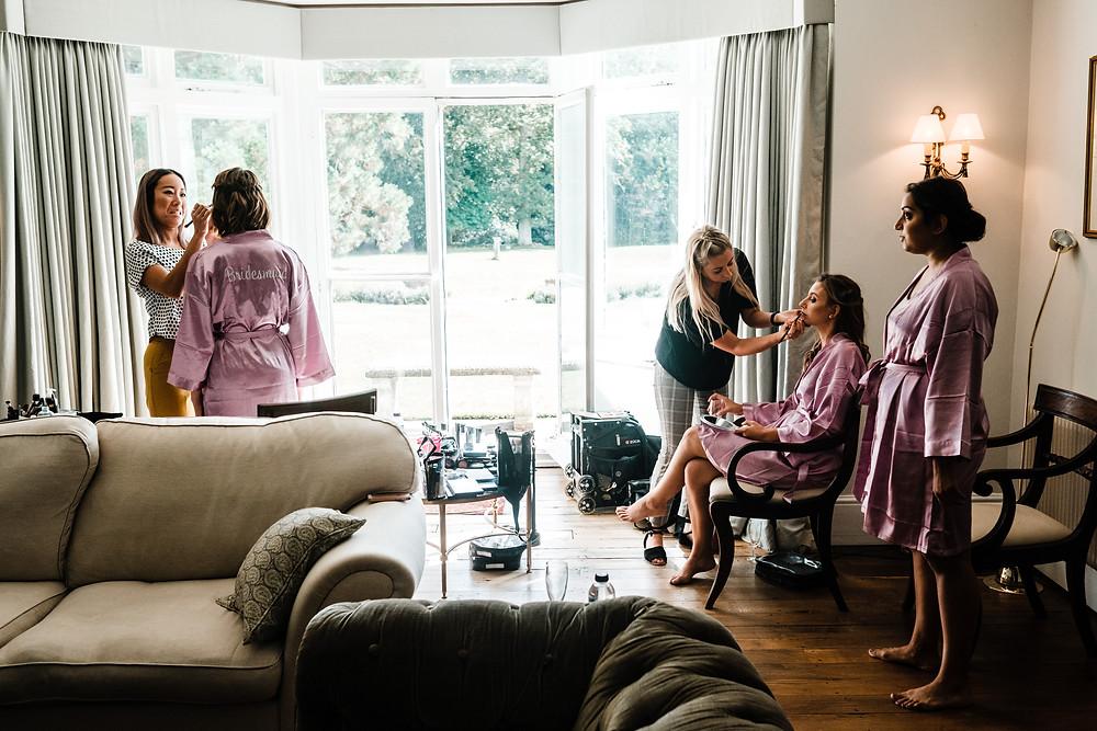Bridesmaids Hair | Surrey | Uk | Wedding