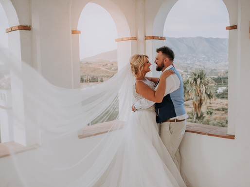 Destination Wedding Photography in Mijas, Spain
