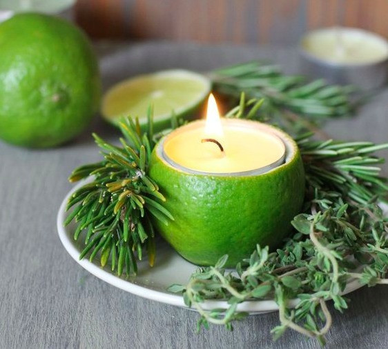 lime candle