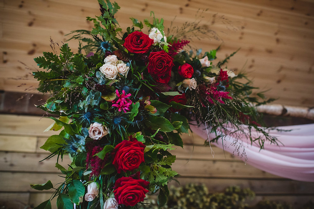 Red and Berry Wedding | Planners | Luxury