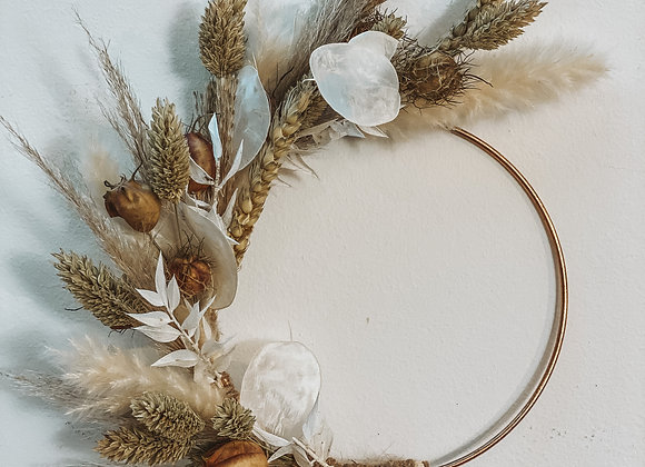 DIY Dried Flower Hoop Kit