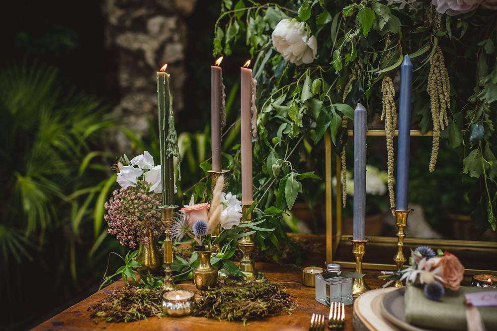 Surrey wedding styling