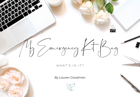 What Is In My Wedding Day Emergency Kit Bag?
