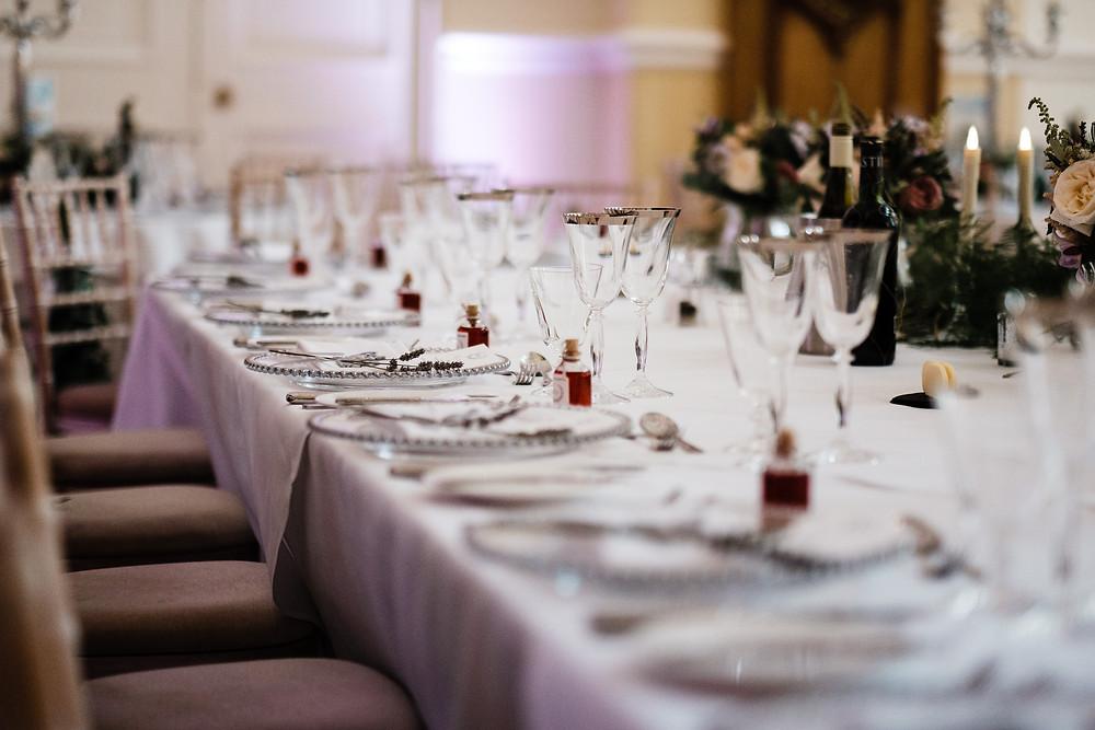 Tablescape | Wedding favours | Stylish wedding