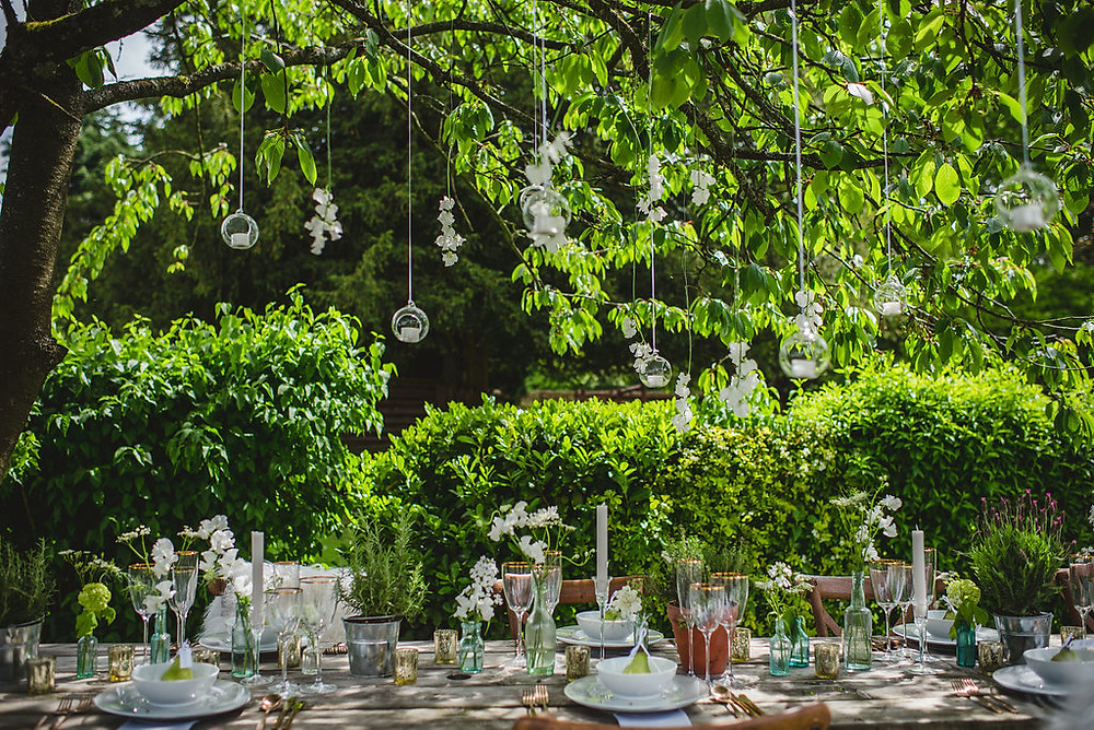 Outside Tablescape | Summer Wedding | Uk Wedding Planner